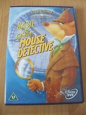 Walt Disney Classics - Basil The Great Mouse Detective - Genuine UK Region 2 DVD