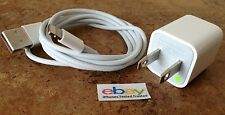 OEM Apple iPhone 5 5C 5S 6 6S Plus SE Lightning Wall Adapter Charger USB Cable