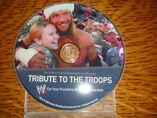 WWE TRIBUTE TO THE TROOPS EMMY DVD CAMP SPEICHER TIKRIT IRAQ CHRISTMAS EVE 5TH