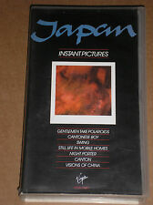 JAPAN - INSTANT PICTURES - VIDEOCASSETTA VHS