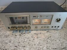 Vintage Pioneer Stereo Cassette Tape Deck Model CT F500 Working