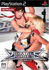 Used PS2 Rumble Roses  SONY PLAYSTATION JAPAN IMPORT