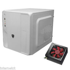 AvP HYPERION EV33W WHITE MATX USB 3.0 CUBE COMPUTER PC MEDIA CASE WITH 750W PSU