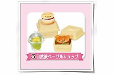 Re-ment Rilakkuma Shiawase Food Market Japanese Food Fast food Burger - No.5