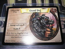 HARRY POTTER TRADING CARD GAME TCG BASIC GUARD DOG 53/116 UNCO ENGLISH MINT