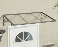 Traditional Glazed Door Canopy - 1350mm x 880mm,  Smoking Shelter, Porch Cover