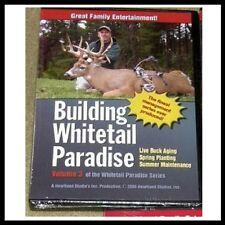 NEW DVD!  Building Whitetail Paradise - Awesome Bucks!