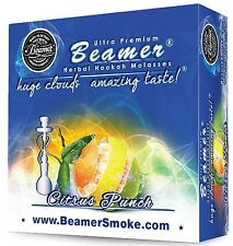 Citrus Punch Beamer Molasses 50g Hookah Herbal Shisha Nargila pipe Tobacco Free