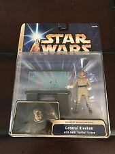 Star Wars Empire Strikes Back General Rieekan Hoth Tactical Screen 2004 MOC