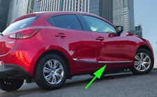 Chrome Plated Body Door Side Molding cover trim for 2015-2016 Mazda 2 DEMIO 5DR
