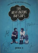 The Fault in Our Stars Presents the Night Before our Stars Signed Poster
