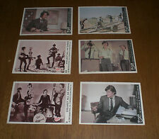 6 1966 & 1967 THE MONKEES DONRUSS TRADING CARDS - DIFFERENT