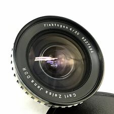 "Carl Zeiss Jena Flektogon 20mm F4 Exakta Mount ""Zebra"""