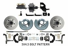 Mopar A Body Disc Brake Conversion & Standard Power Booster Conversion Kit 5x4.5