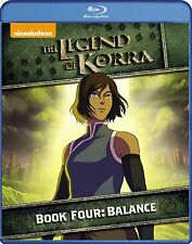 The Legend of Korra: Book Four 4 - Balance (Blu-ray Disc, 2015, 2-Disc Set) NEW!