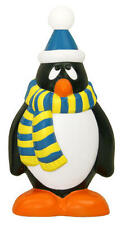 "****NEW**** 29""  Penguin Blue & Yellow Scarf Lighted Christmas Blow Mold"
