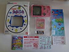 Game Boy Pocket System Game de Hakken !! Tamagotchi Nintendo Japan MINT