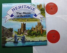 Heritage Music of Britain inc Floral Dance & Beatles Medley + SSR77/1/2 LP x 2