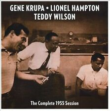 The Complete 1955 Session by Gene Krupa/Lionel Hampton/Teddy Wilson (CD,...