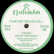 GEORGE THOMSON - Funktion Pistas Vol. 2 - Plomería Keeps Que viene - Stickman