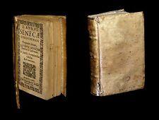 [PHILOSOPHIE STOICISME Imp. MILANO] SENEQUE / SENECAE - Tragoediae. 1635.