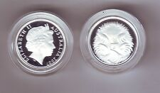 2007 SILVER Proof 5 Cent Echidna Ant Eater Australia ex Fine Silver Set
