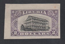 Liberia # 174 Imperf Plate Proof (No Gum As Always For Proofs)