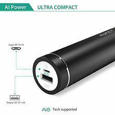 [Upgraded] AUKEY mini 5000mAh Ultra Portable Charger External Battery Power Bank