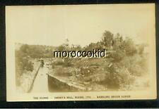 EMERY'S MILL ME EARLY RPPC REAL PHOTO POSTCARD FLUME & BABBLING BROOK LODGE