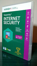 Kaspersky Internet Security 2016 with Anti-virus 3 PCs 1 Year Retail box, New