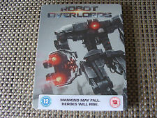 Blu Steel 4 U: Robot Overlords : Steelbook Sealed Gillian Anderson, Ben Kingsley