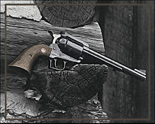 "8 x 10 Wall Art Photograph "".44 Magnum"" 100% ACID FREE FINE ART PAPERS (PFP)"