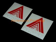 "2x 5.5"" 14cm ADVAN Decal Sticker for supra rx-7-8 s2000 celica mr2 integra gtr s"