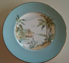 "Lenox British Colonial Tradewinds Ship design luncheon plate 9.5""- mint"