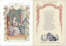 Publicité PHOSPHATINE Falières (Aliment des enfants) Fable L'enfant et le Miroir