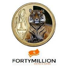 AUSTRALIA: 10 x 2012 $1 Sumatran Tiger PNC Zoo Series SUPER PRICE