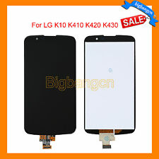 Black LCD Touch Screen Digitizer Assembly Replacement For LG K10 K410 K420 K430