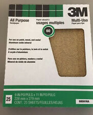 "3M 60d Production Pro Pack All Purpose Sandpaper 88591NA 9"" x 11"""