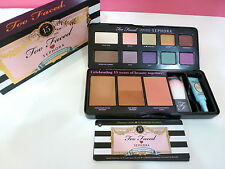 NIB Too Faced Loves Sephora 15 Years Of Beauty Palette Eyeshadow Primer Blush