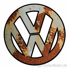 VW RAT LOOK RUST LOGO car / wall sticker decal graphic camper beetle bug t4 t5