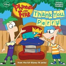 Phineas and Ferb #12: Thank You, Perry! (Phineas & Ferb 8x8 (Unnumbere-ExLibrary