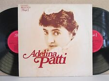 ADELINA PATTI- The Best of Opera/Traditional/Lieder 2-LP (NM) Figaro/Bellini etc