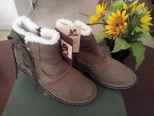 Lamo Olive Camper Ankle Boot Size 6