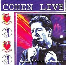 LEONARD COHEN COHEN LIVE CD NEW
