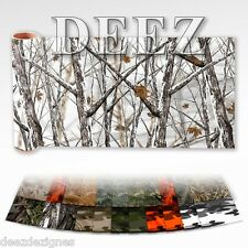 "CAMOUFLAGE WRAP  CAMO DECAL MADE FROM 3M  VINYL 52x15"" TRUCK SNOW"