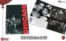 CHICAGO The Musical Tour Program Melbourne Australia 1988 Like new Vintage Stage