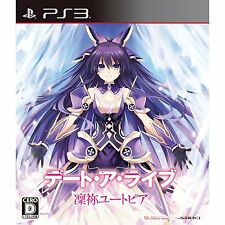 Used PS3 Date A Live:Rinne Utopia Japan Import