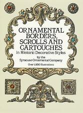 Ornamental Borders, Scrolls and Cartouches in Historic Decorative Styles by Syra