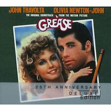 GREASE (Deluxe 2 disc edition) Original Soundtrack (CD) Sealed