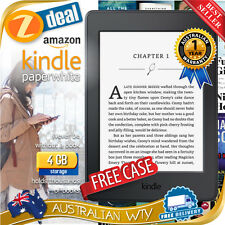 "ALL NEW AMAZON KINDLE PAPERWHITE WI-FI E-READER 6"" EREADER EBOOK E-BOOK E INK FC"